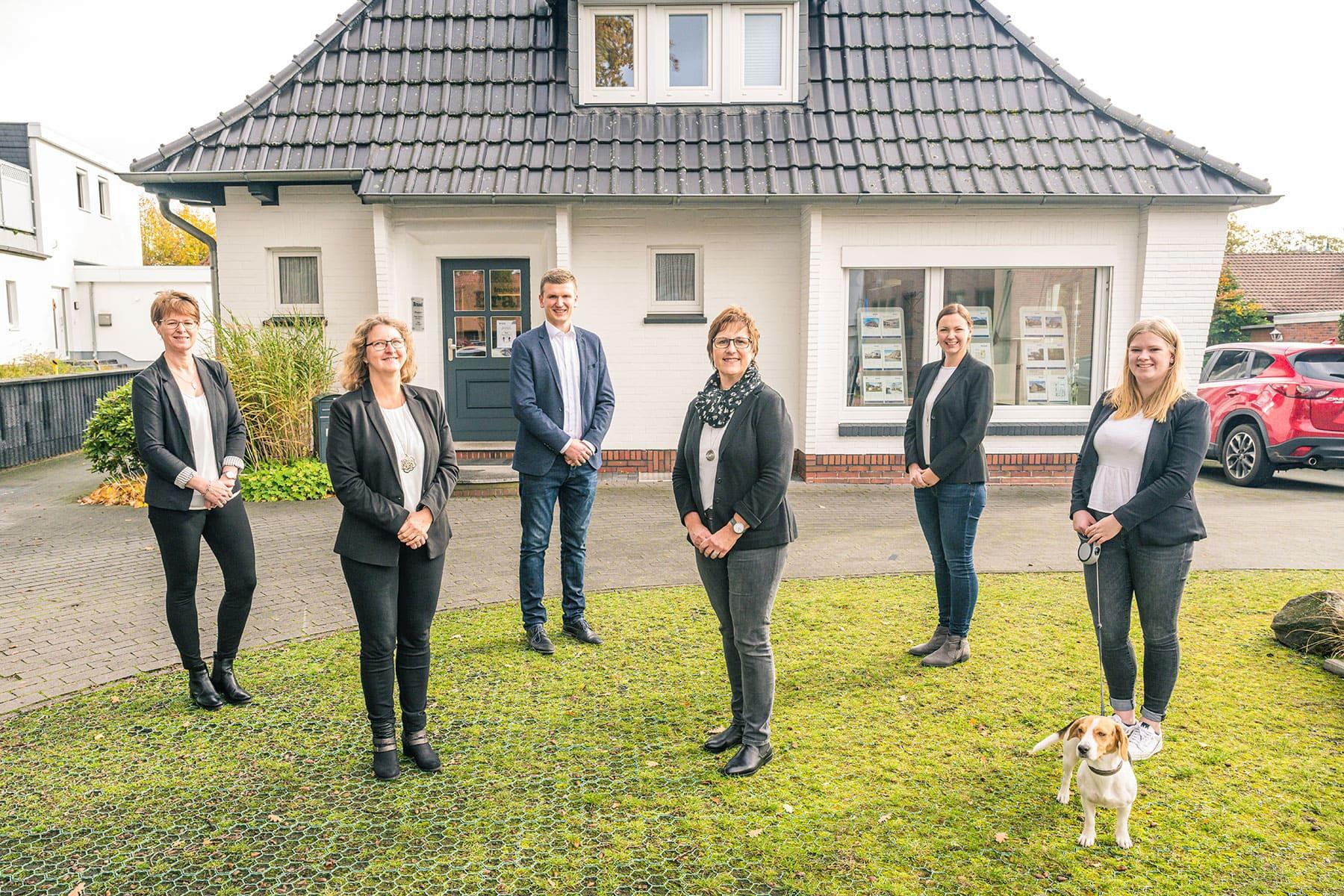 Immobilien Wardenburg Brand Team Foto